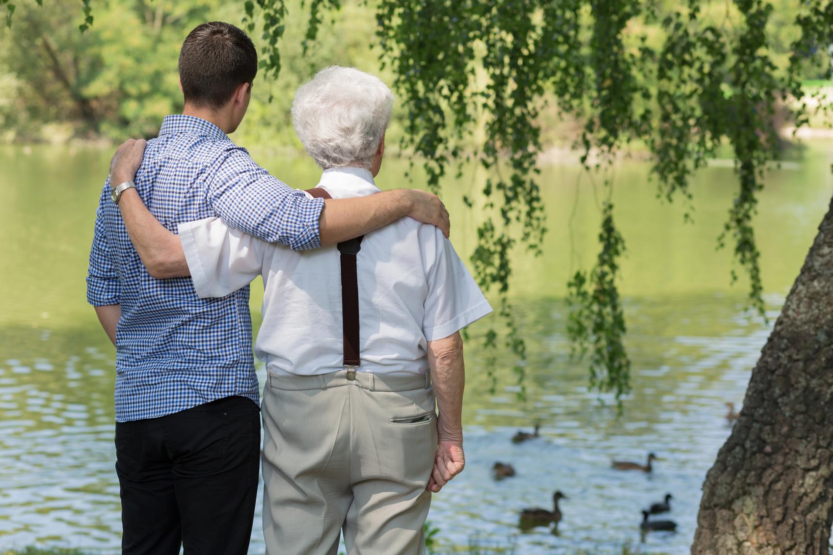Urlaub mit pflegebedürftigen Angehörigen
